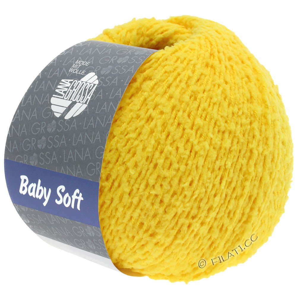 Lana Grossa BABY SOFT | 16-yellow
