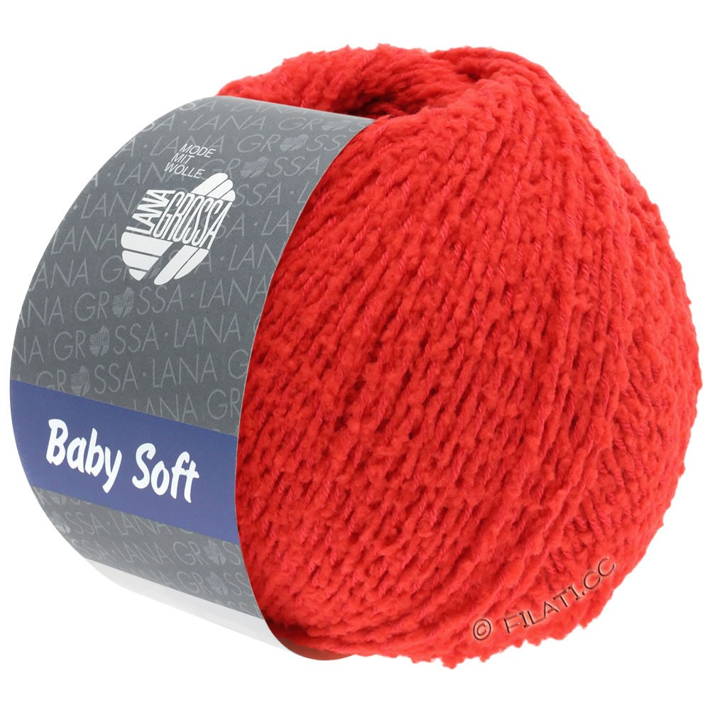 Lana Grossa BABY SOFT | 17-red