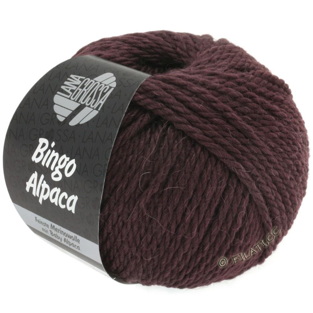 Lana Grossa BINGO ALPACA Uni | 04-blackberry