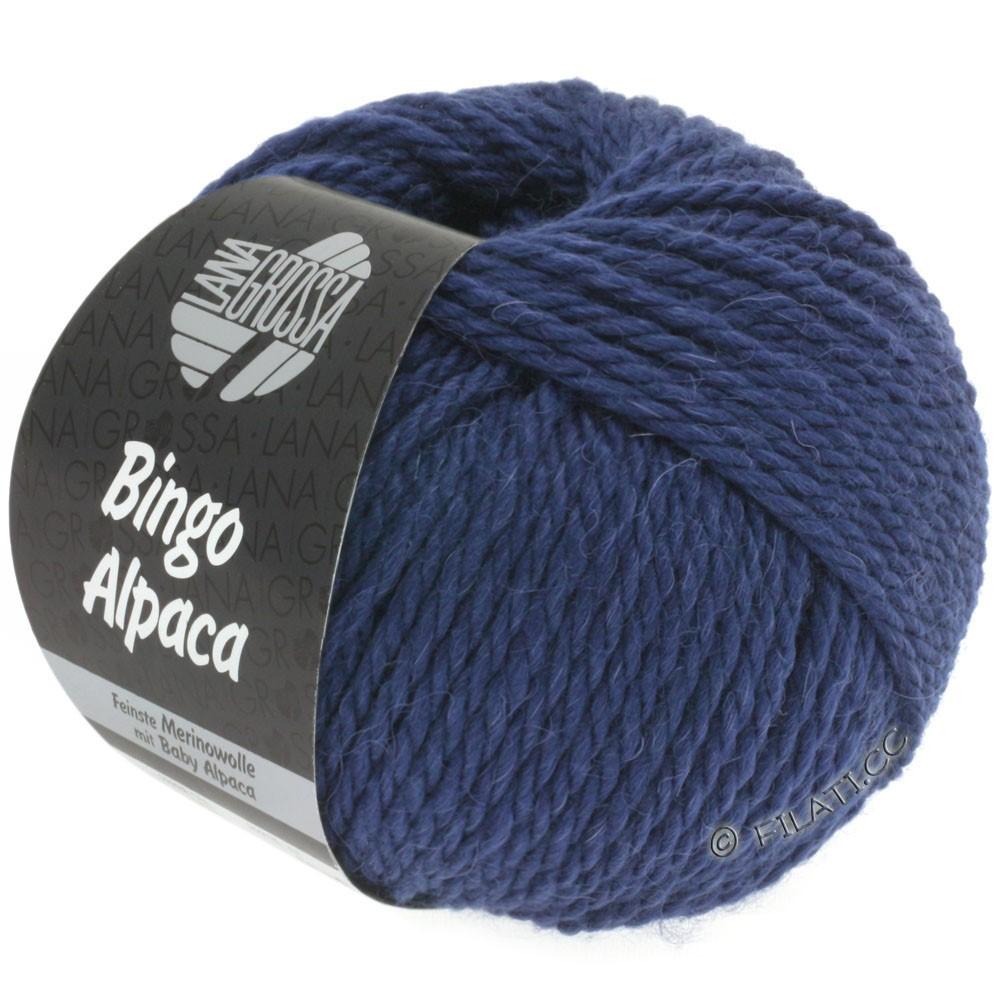 Lana Grossa BINGO ALPACA Uni | 11-dark blue