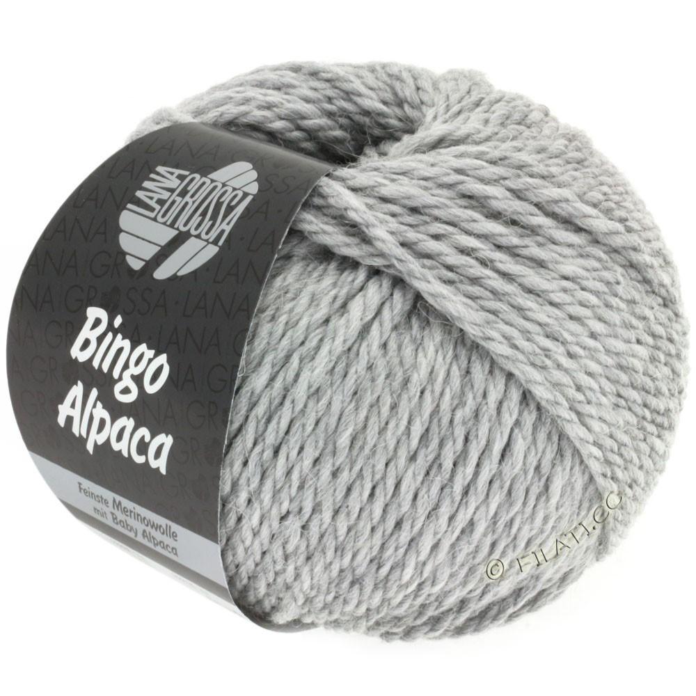 Lana Grossa BINGO ALPACA Uni | 12-gray