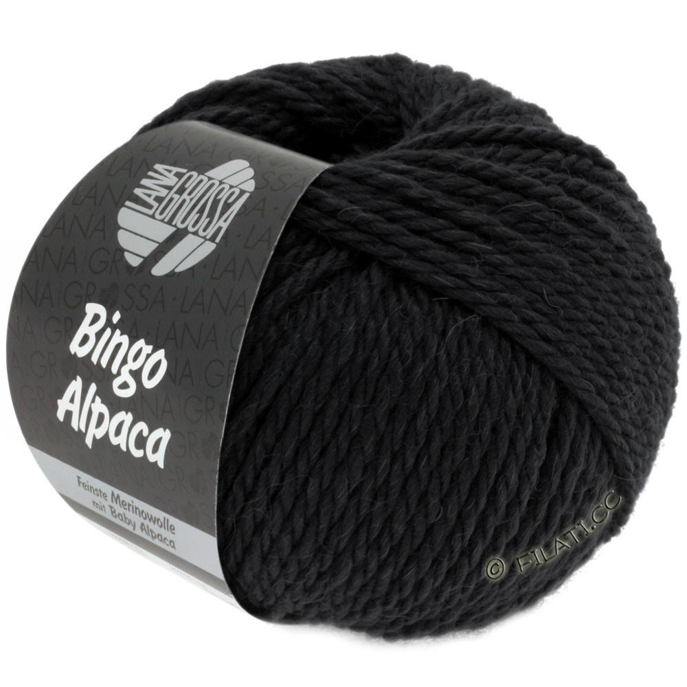 Lana Grossa BINGO ALPACA Uni | 14-black
