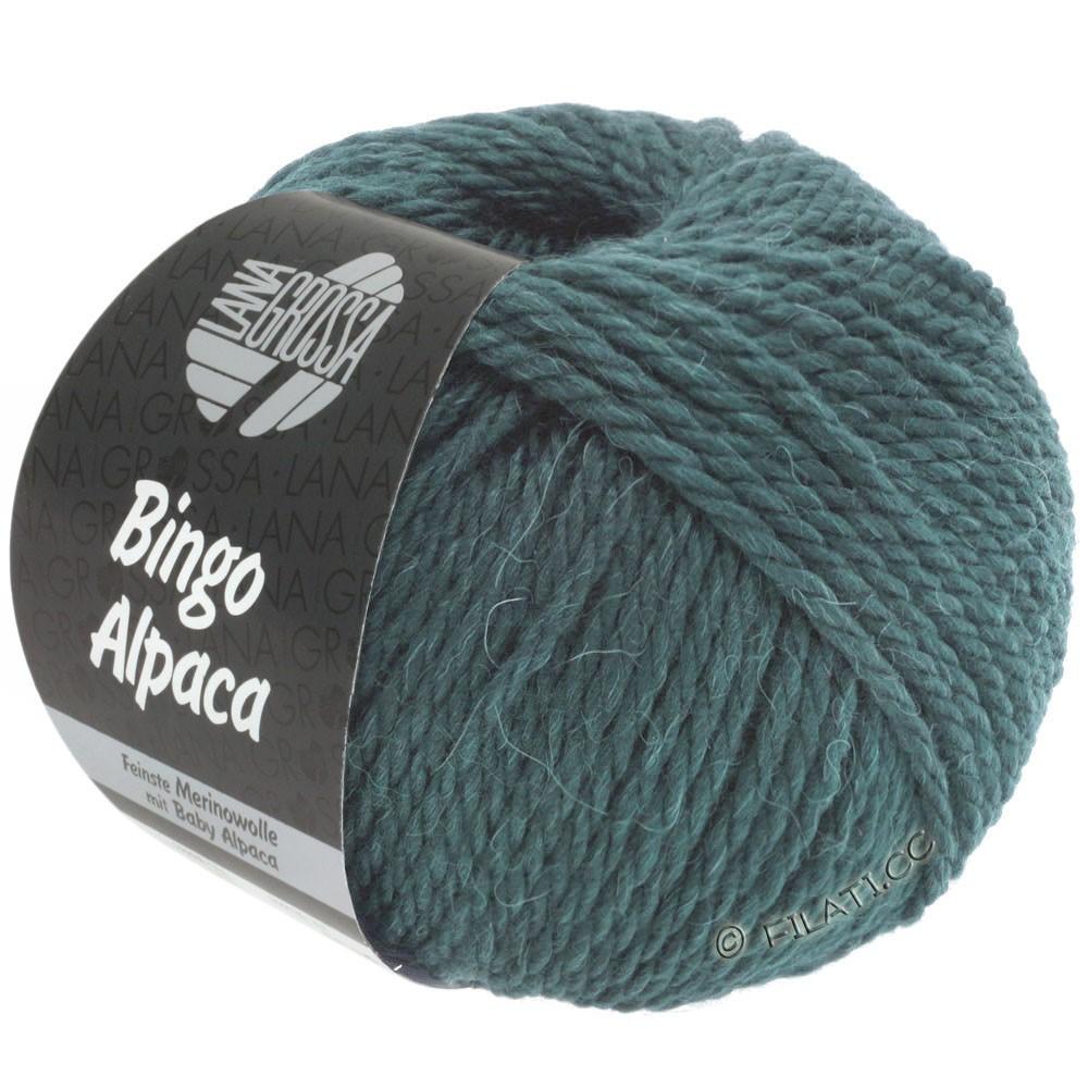 Lana Grossa BINGO ALPACA Uni | 18-gray green