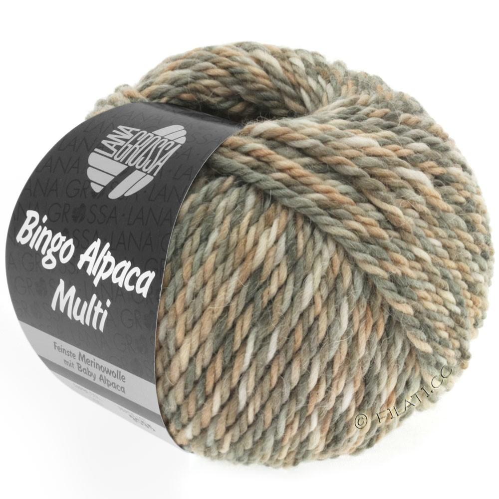 Lana Grossa BINGO ALPACA Multi | 102-taupe/beige/nature/gray/sand