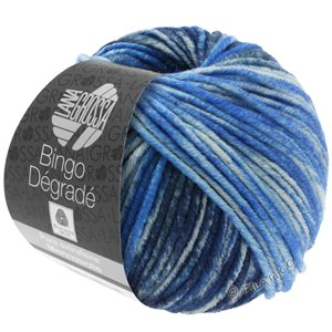 Lana Grossa BINGO Dégradé | 652-subtle blue/light blue/jeans blue/night blue/gray