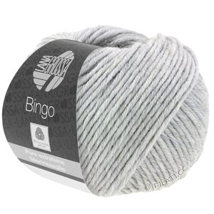 Lana Grossa BINGO  Uni/Melange | 001-light gray mottled