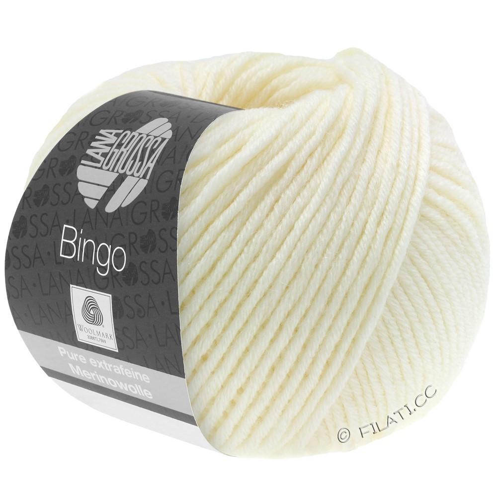 Lana Grossa BINGO  Uni/Melange/Print | 005-raw white