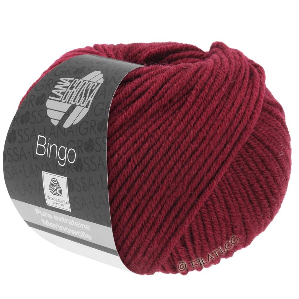 Lana Grossa BINGO  Uni/Melange/Print | 007-wine red