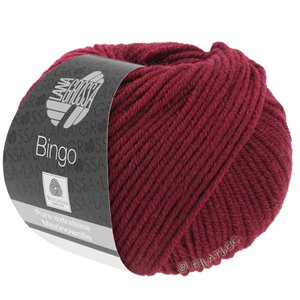 Lana Grossa BINGO  Uni/Melange | 007-wine red