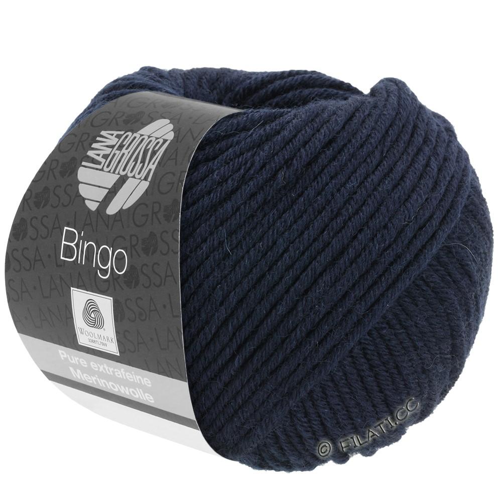 Lana Grossa BINGO  Uni/Melange/Print | 008-midnight blue