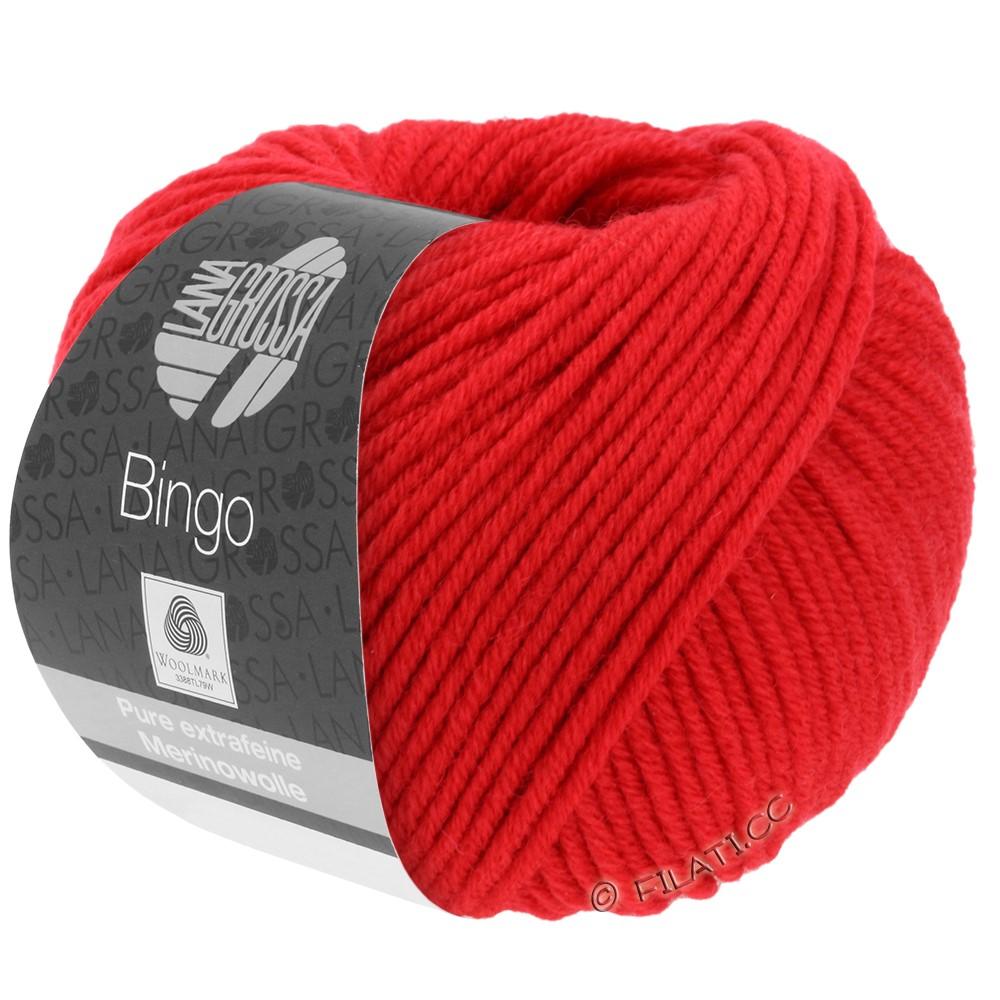Lana Grossa BINGO  Uni/Melange/Print | 020-bright red