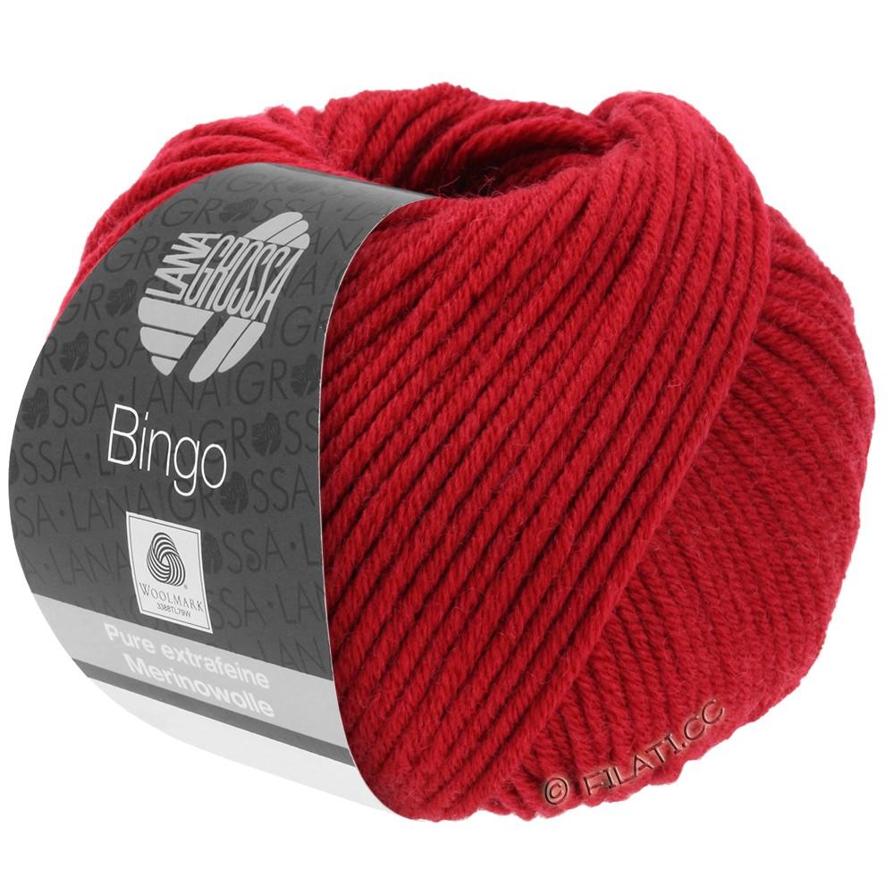 Lana Grossa BINGO  Uni/Melange/Print | 044-cherry red