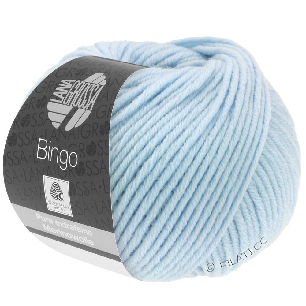 Lana Grossa BINGO  Uni/Melange/Print | 056-ice blue