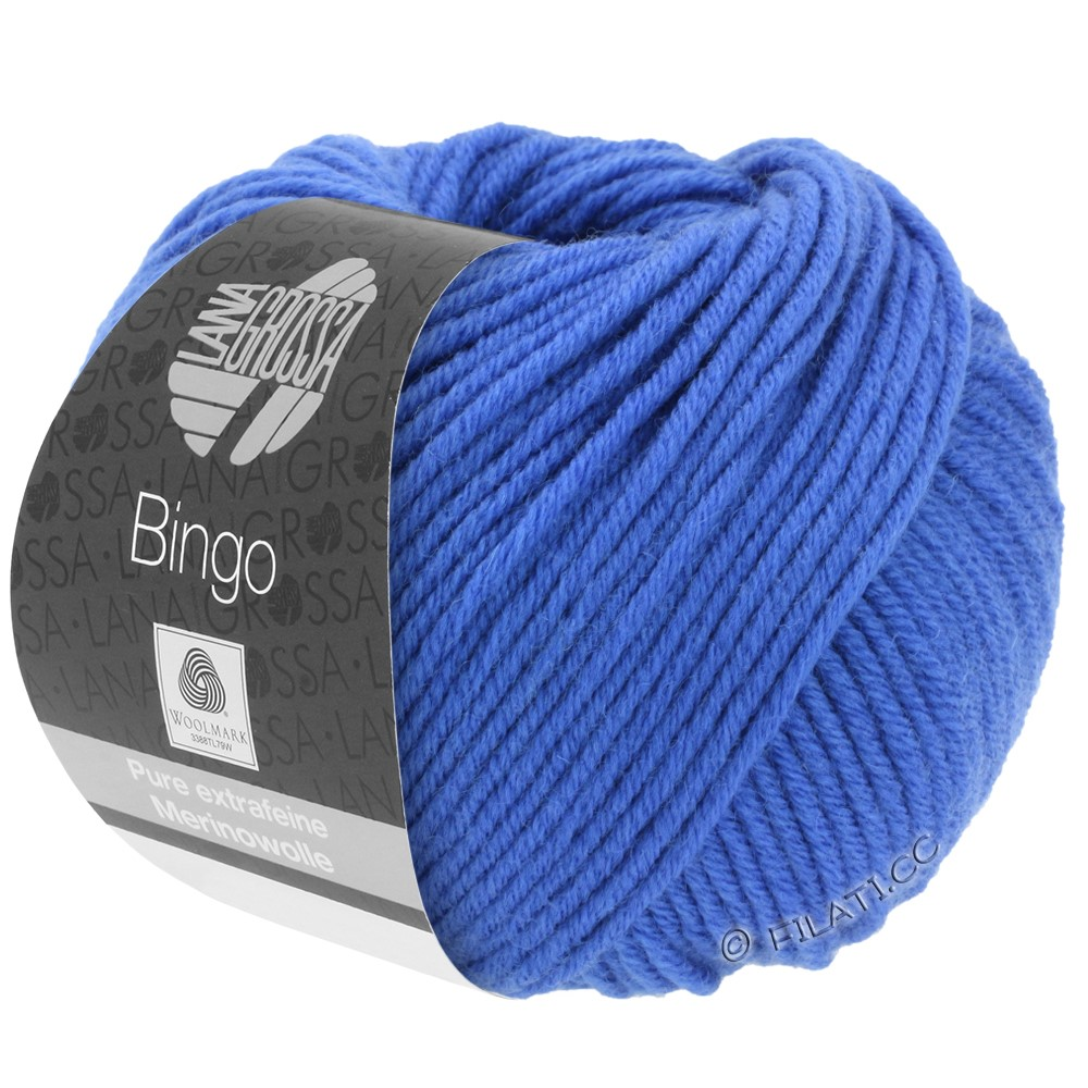 Lana Grossa BINGO  Uni/Melange/Print | 090-cobalt blue