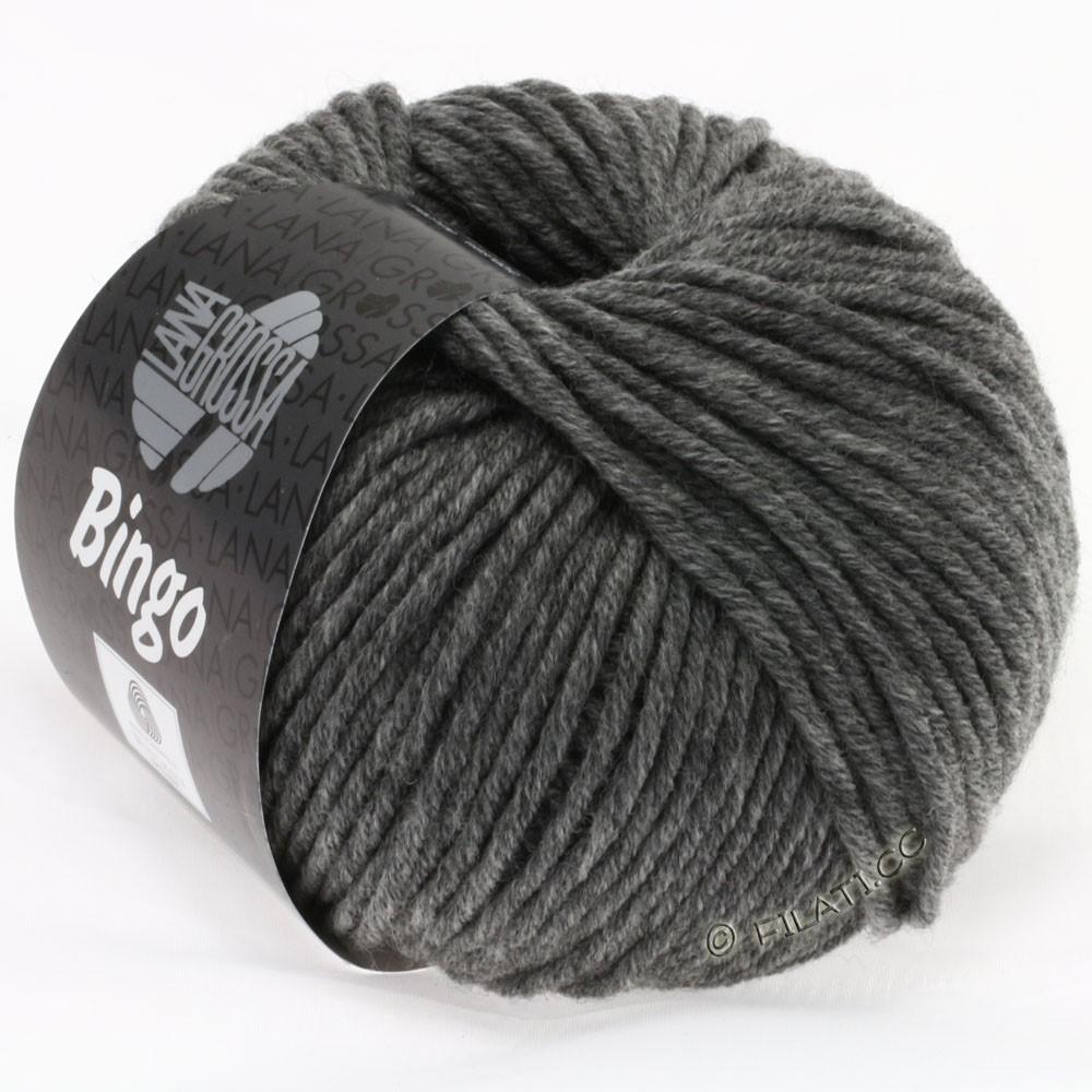 Lana Grossa BINGO  Uni/Melange/Print | 120-dark gray mottled