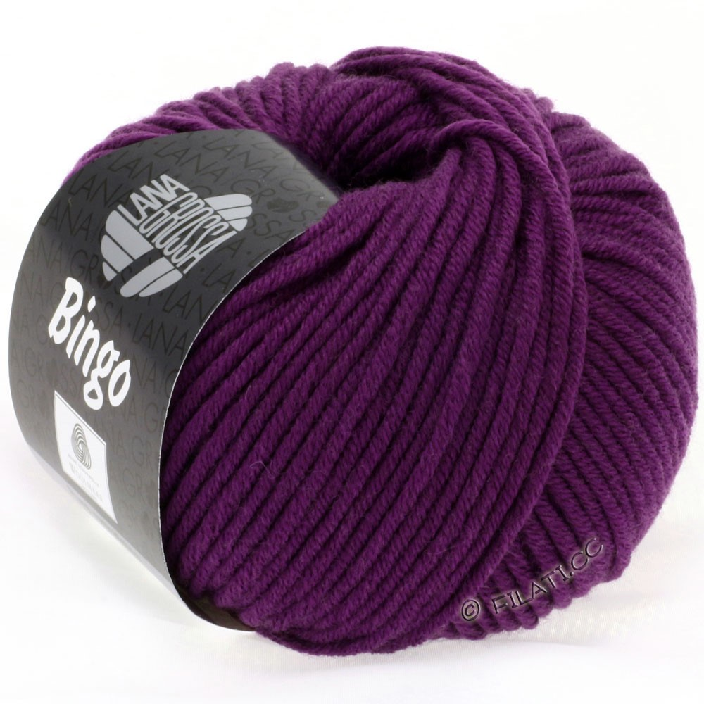 Lana Grossa BINGO  Uni/Melange/Print | 128-red violet