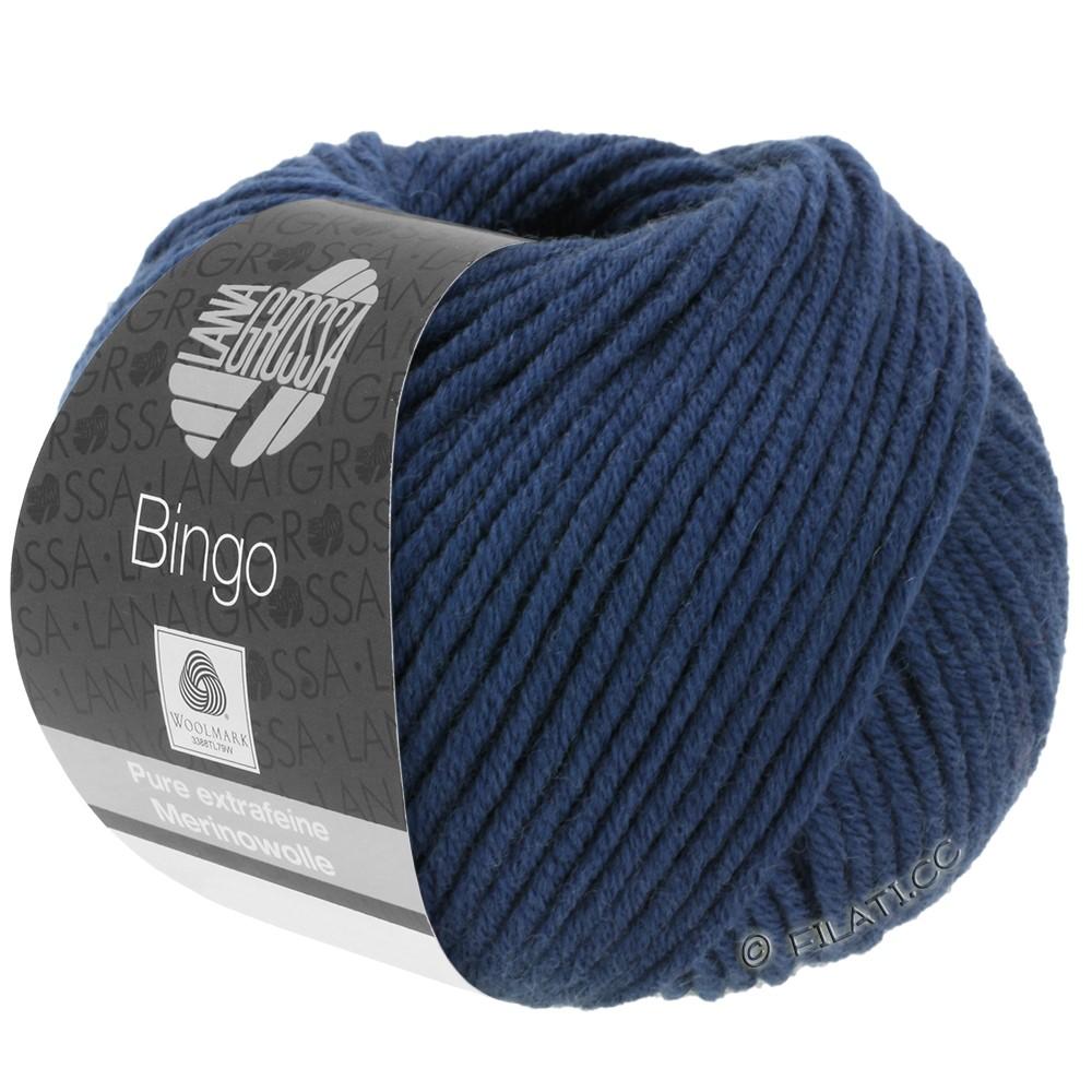 Lana Grossa BINGO  Uni/Melange/Print | 147-dark blue