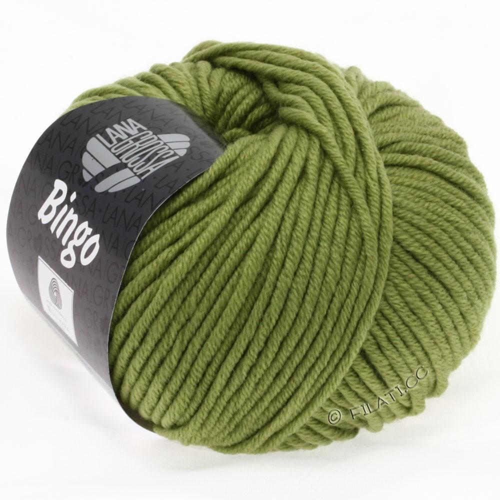 Lana Grossa BINGO  Uni/Melange/Print | 148-olive green