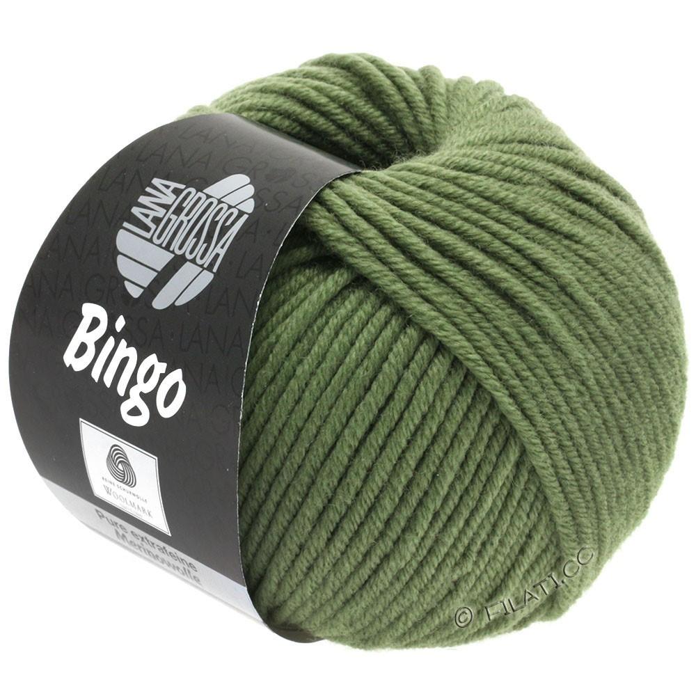 Lana Grossa BINGO  Uni/Melange/Print | 180-reseda green