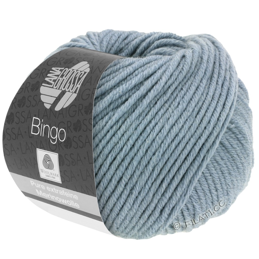 Lana Grossa BINGO  Uni/Melange/Print | 190-blue gray