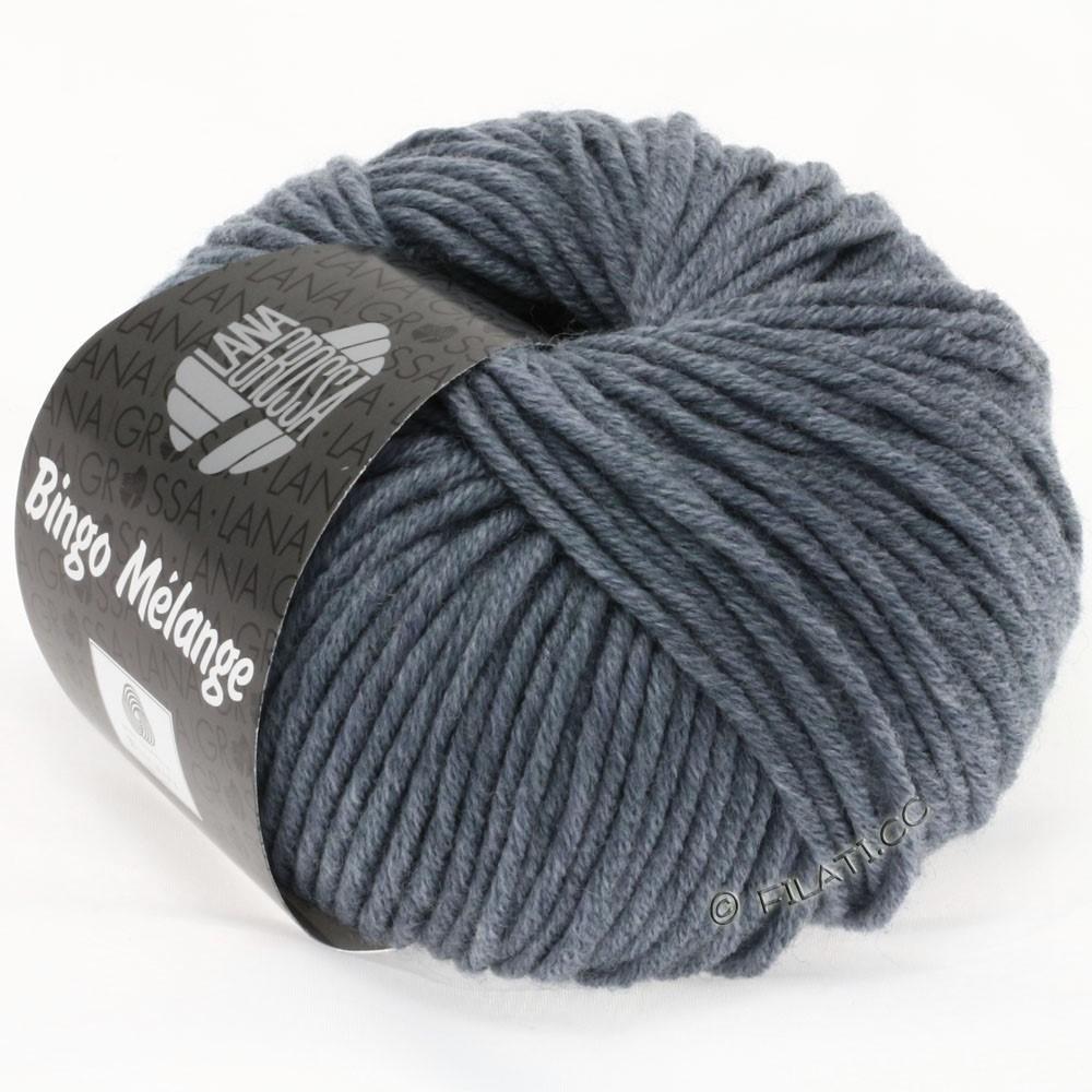 Lana Grossa BINGO  Uni/Melange/Print | 204-gray blue mottled