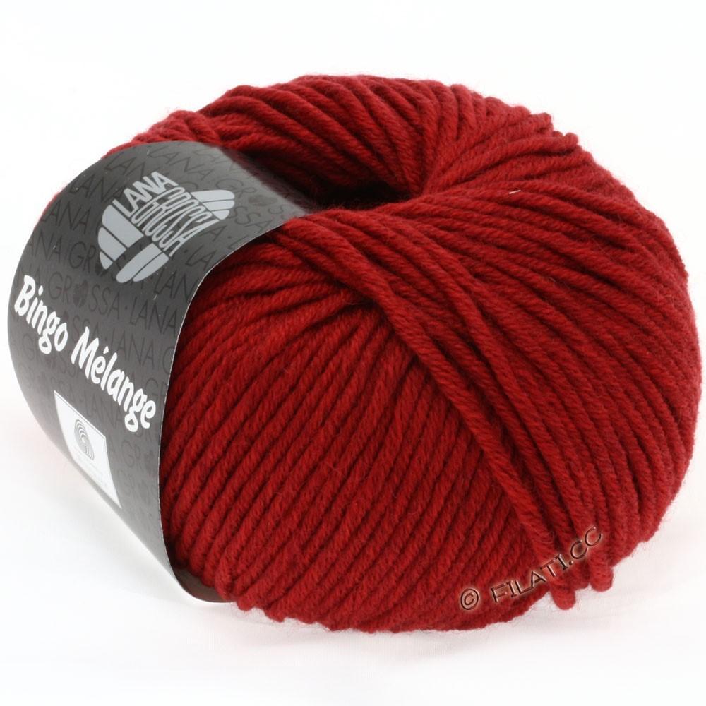 Lana Grossa BINGO  Uni/Melange/Print | 226-dark red mottled