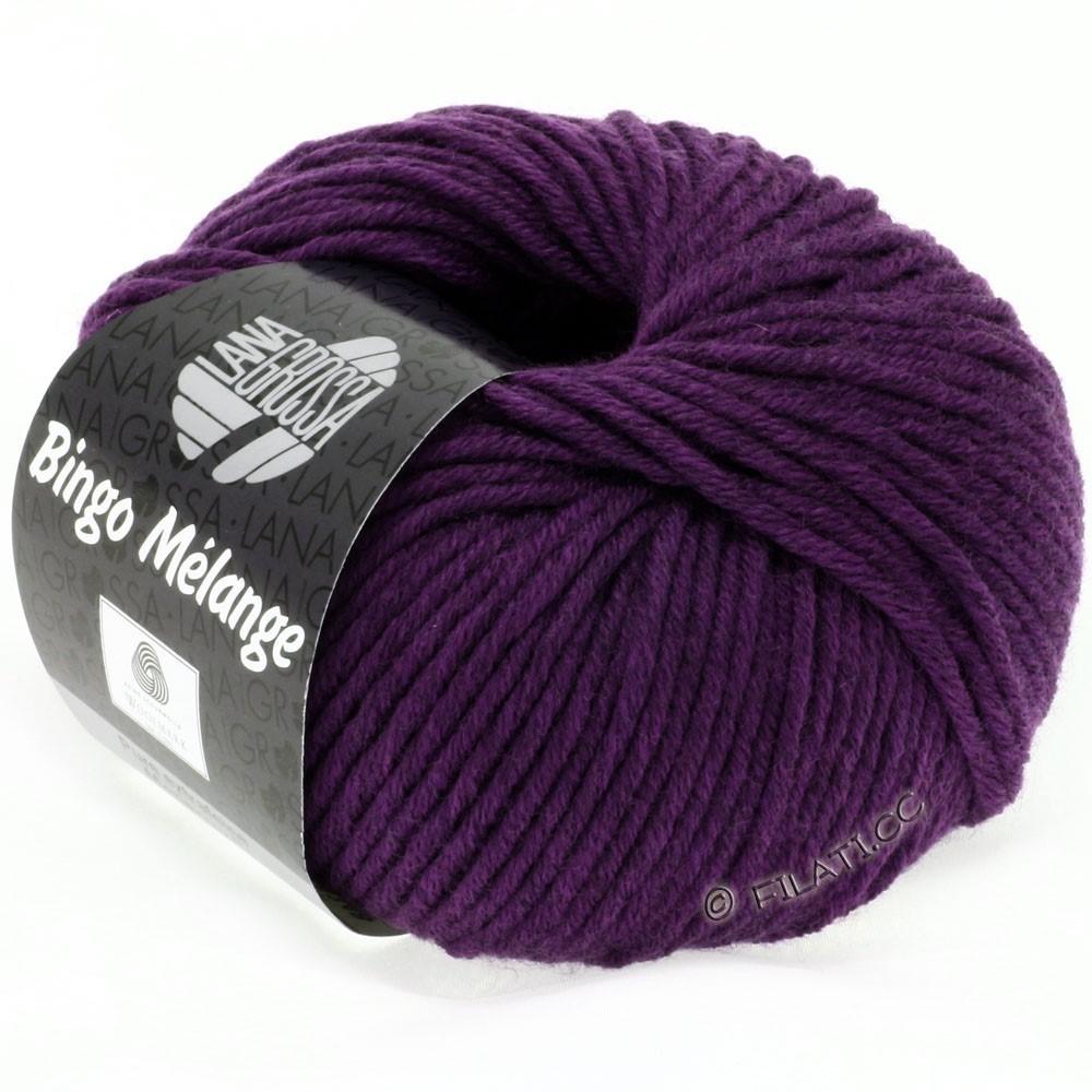 Lana Grossa BINGO  Uni/Melange/Print | 229-dark violet mottled