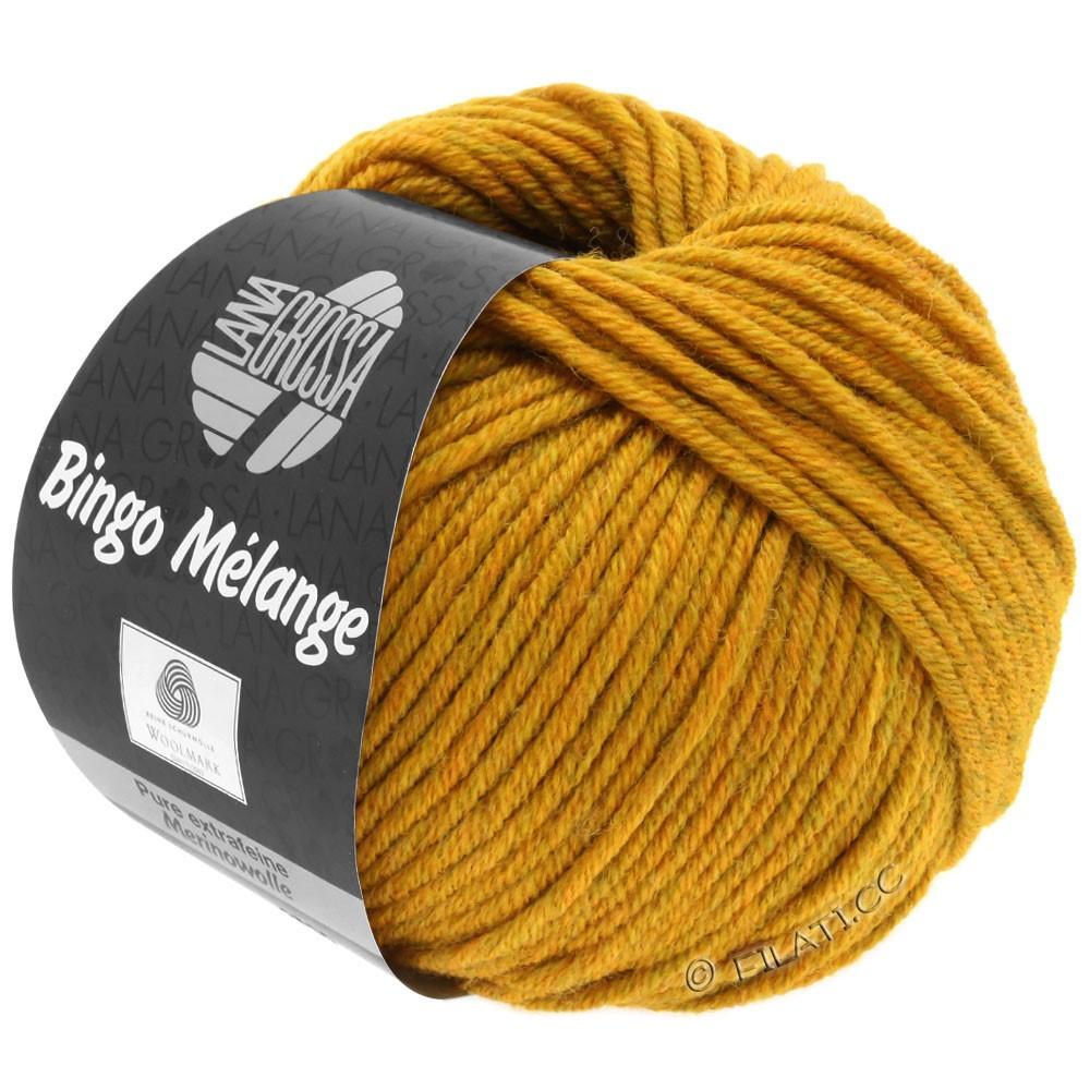 Lana Grossa BINGO  Uni/Melange/Print | 242-mustard yellow mottled