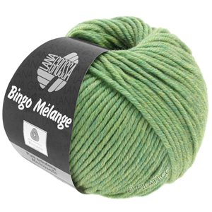 Lana Grossa BINGO  Uni/Melange | 243-light green mottled