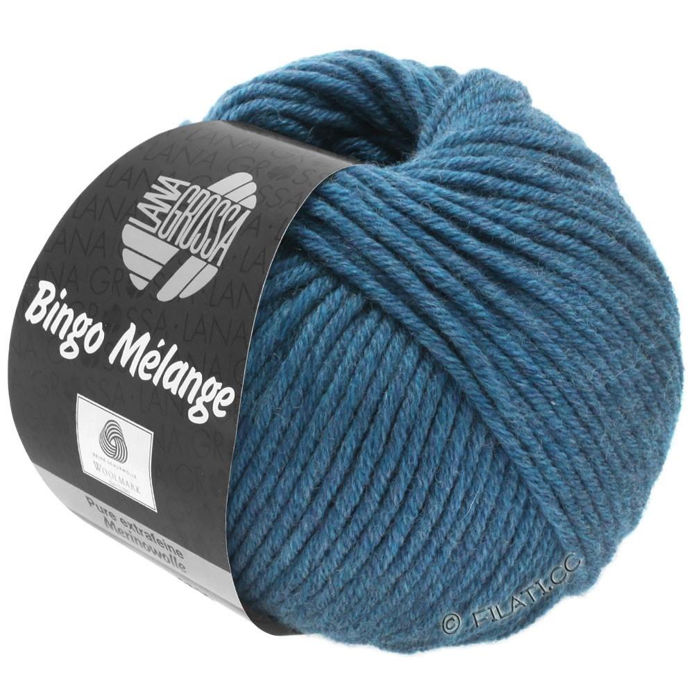Lana Grossa BINGO  Uni/Melange/Print | 244-dark blue mottled