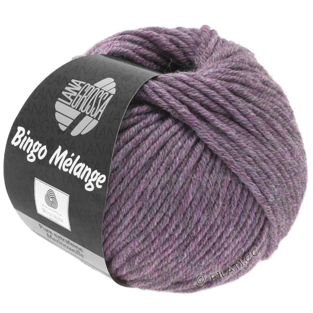 Lana Grossa BINGO  Uni/Melange/Print | 245-antique violet mottled