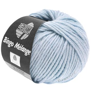 Lana Grossa BINGO  Uni/Melange | 250-light blue mottled