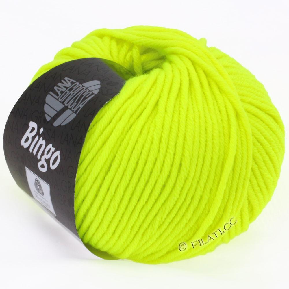 Lana Grossa BINGO  Uni/Melange/Print | 701-neon yellow