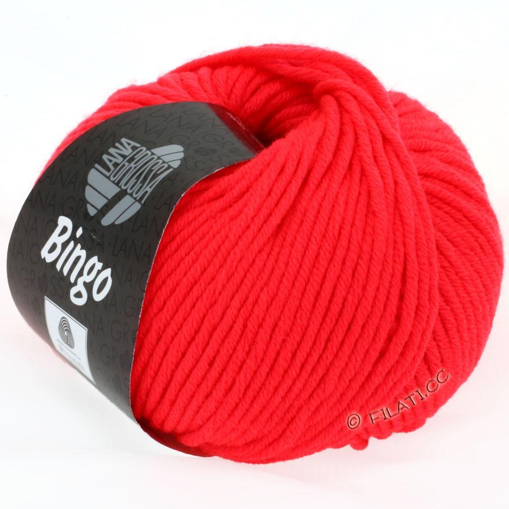 Lana Grossa BINGO  Uni/Melange/Print | 707-neon red