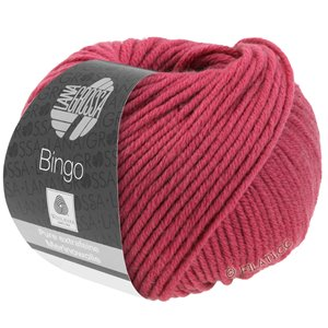 Lana Grossa BINGO  Uni/Melange | 726-purple red