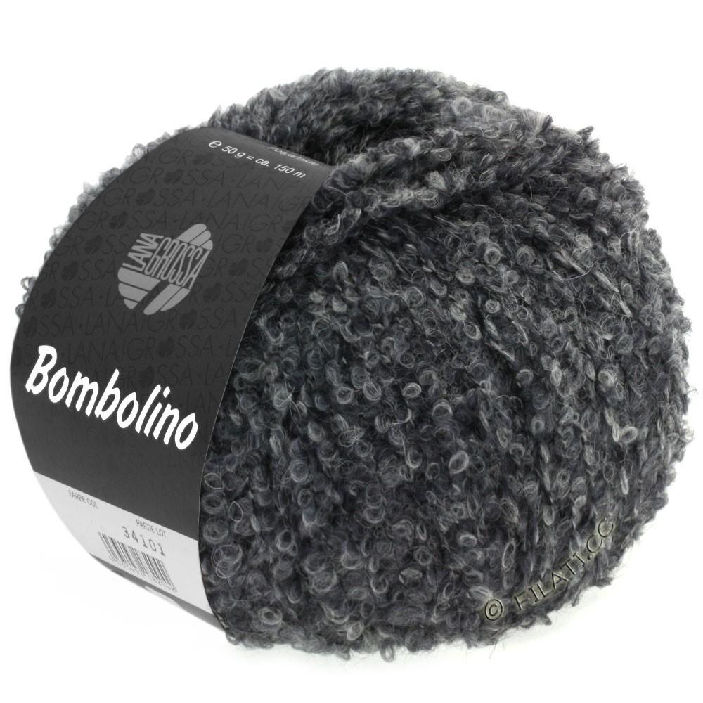 Lana Grossa BOMBOLINO Degradè | 105-lightgray/gray/anthracite