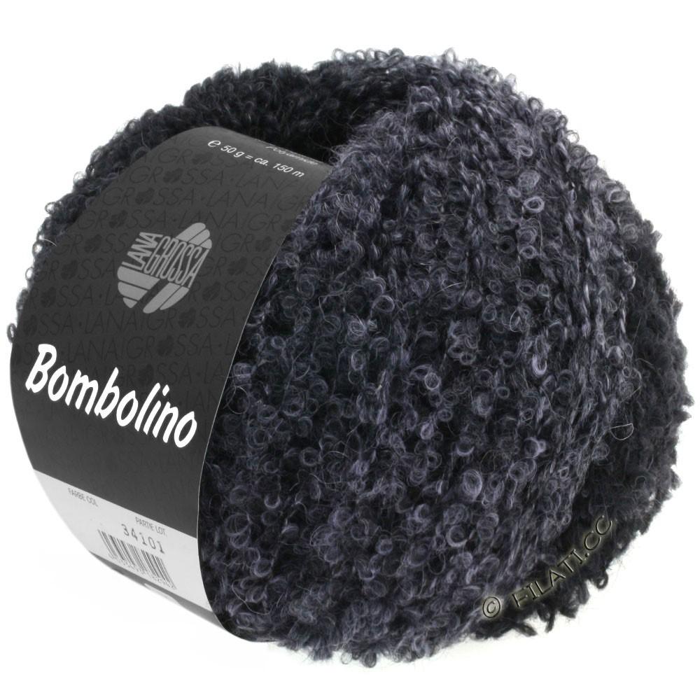 Lana Grossa BOMBOLINO Degradé | 110-light gray/anthracite/black