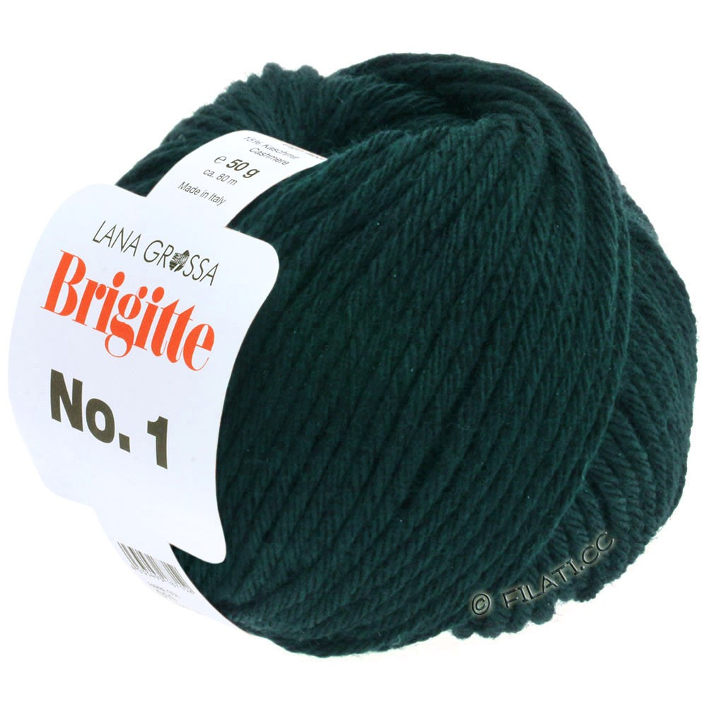 Lana Grossa BRIGITTE NO. 1 | 20-black green