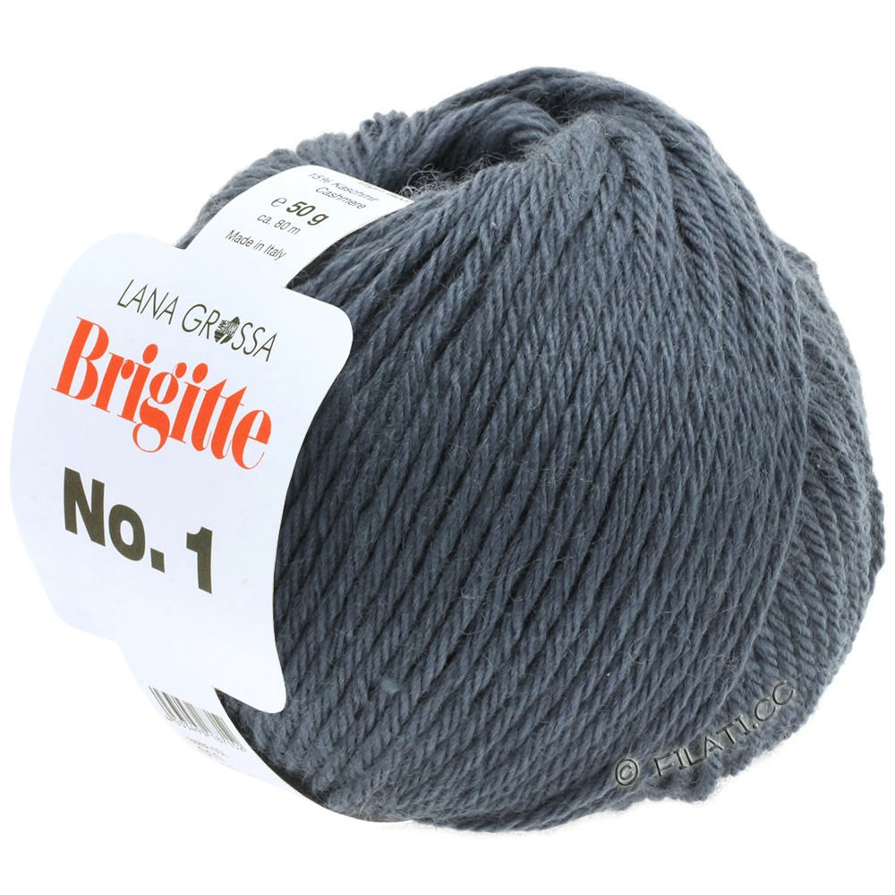 Lana Grossa BRIGITTE NO. 1 | 23-dark gray blue