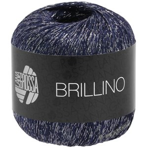 Lana Grossa BRILLINO | 12-night blue/silver