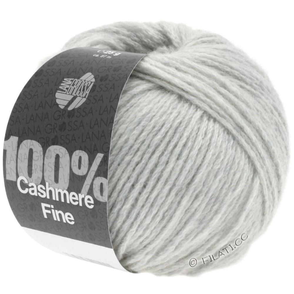 Lana Grossa 100% Cashmere Fine | 01-silver gray
