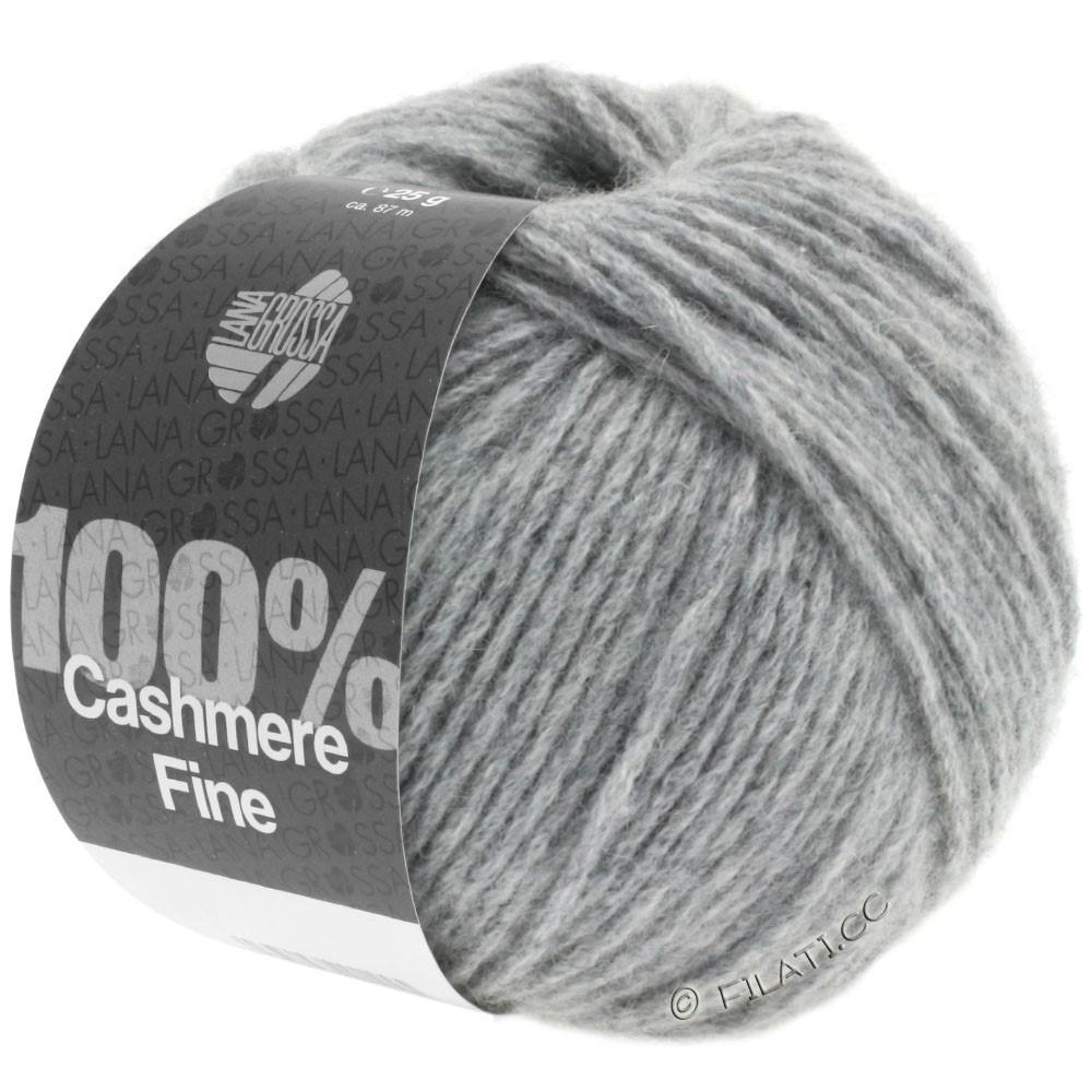 Lana Grossa 100% Cashmere Fine | 03-light gray
