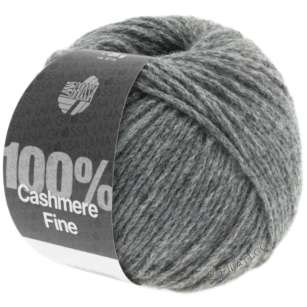 Lana Grossa 100% Cashmere Fine | 04-dark gray