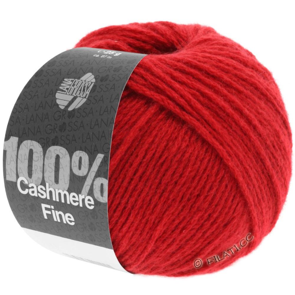 Lana Grossa 100% Cashmere Fine | 08-red