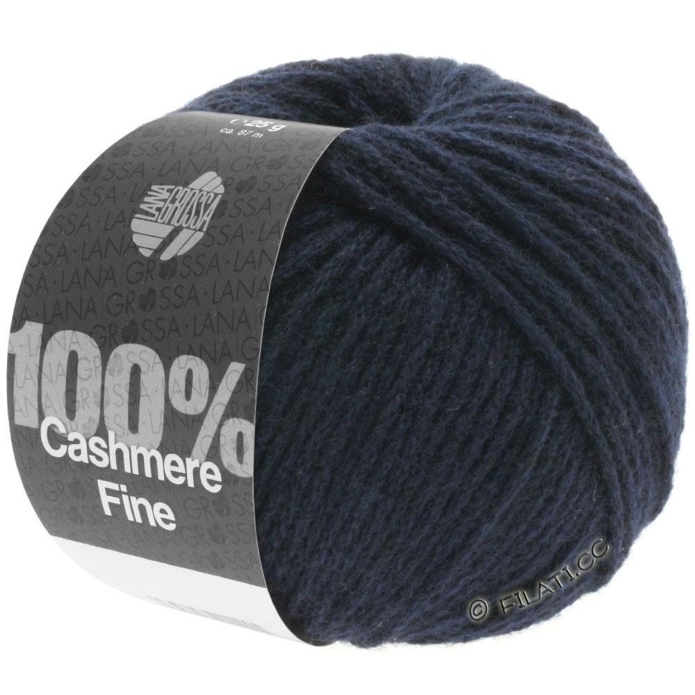 Lana Grossa 100% Cashmere Fine | 09-night blue