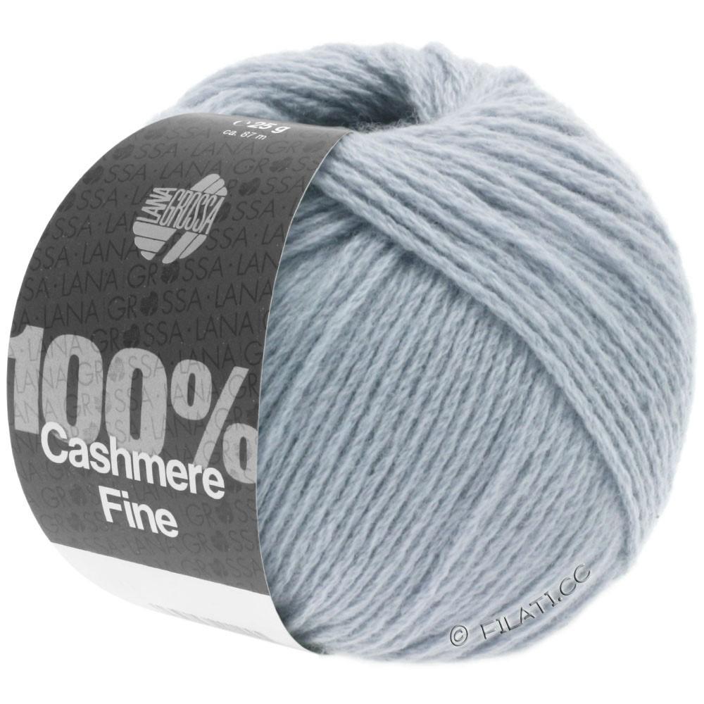 Lana Grossa 100% Cashmere Fine | 11-gray blue