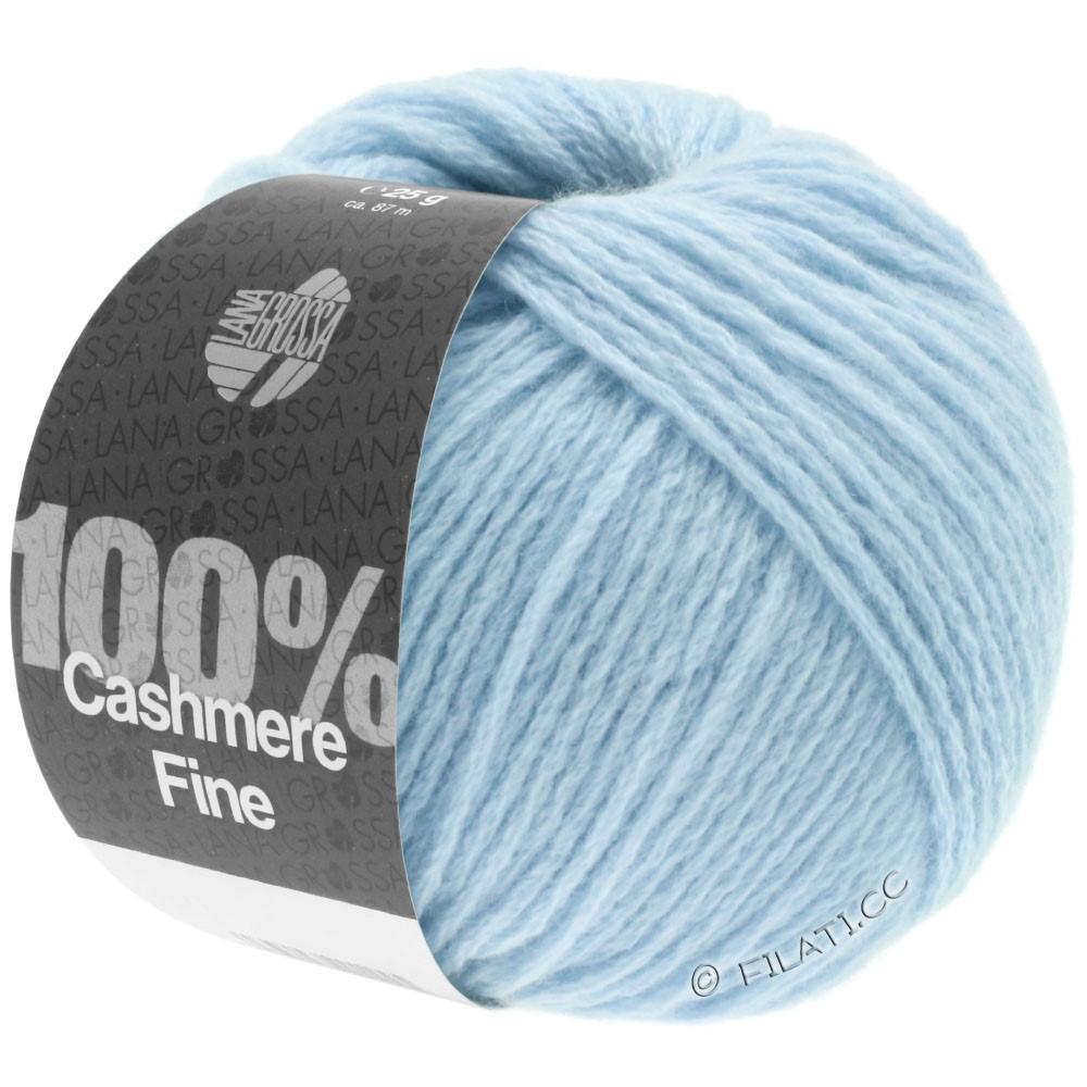 Lana Grossa 100% Cashmere Fine | 12-light blue