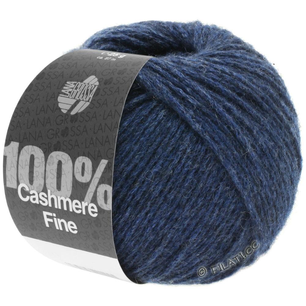 Lana Grossa 100% Cashmere Fine | 18-dark blue