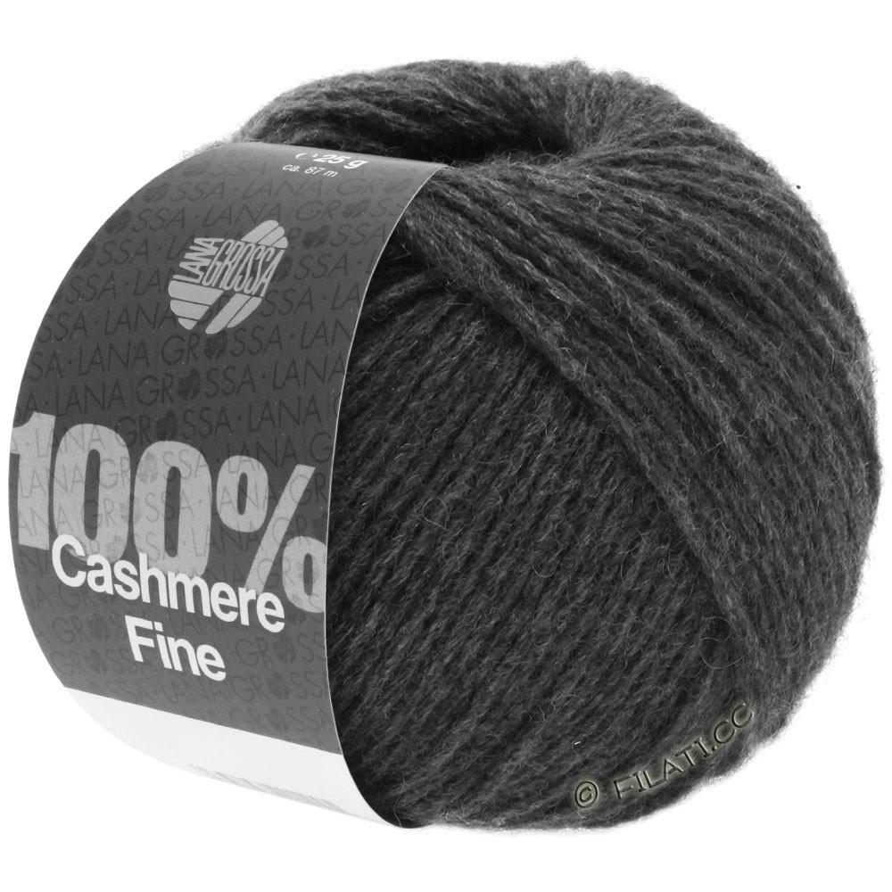 Lana Grossa 100% Cashmere Fine | 21-anthracite