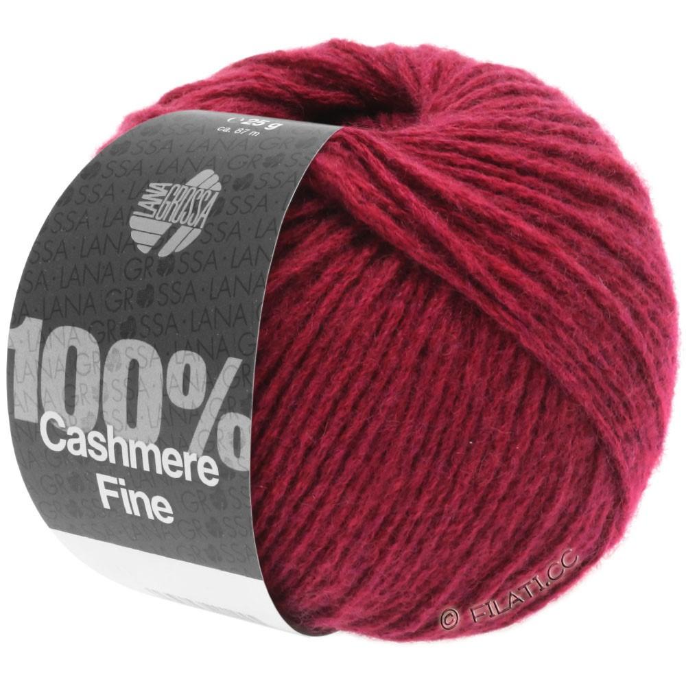 Lana Grossa 100% Cashmere Fine | 22-wine red